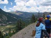 Colorado, cycling, bicycle touring, bicycle, Slumgullion Pass, Spring Creek Pass, Creede, Gunnison, Lake City, Rio Grande