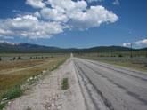Route from Leadville