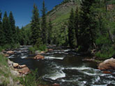 River out of Minturn